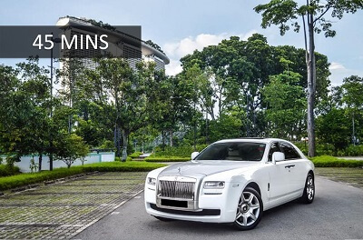 Rolls-Royce Ghost - 45Mins Wedding