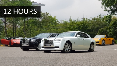 Rolls-Royce Ghost - 12 Hours Disposal