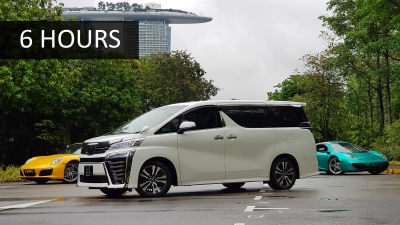 Toyota Vellfire - 6 Hours Wedding
